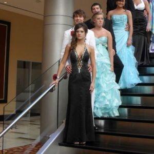 Black homecoming dress